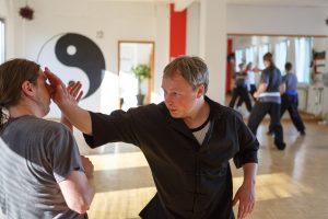 Kung Fu Kampftechnik
